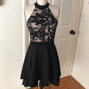 City Triangles Homecoming dress sequin scuba NEW 7